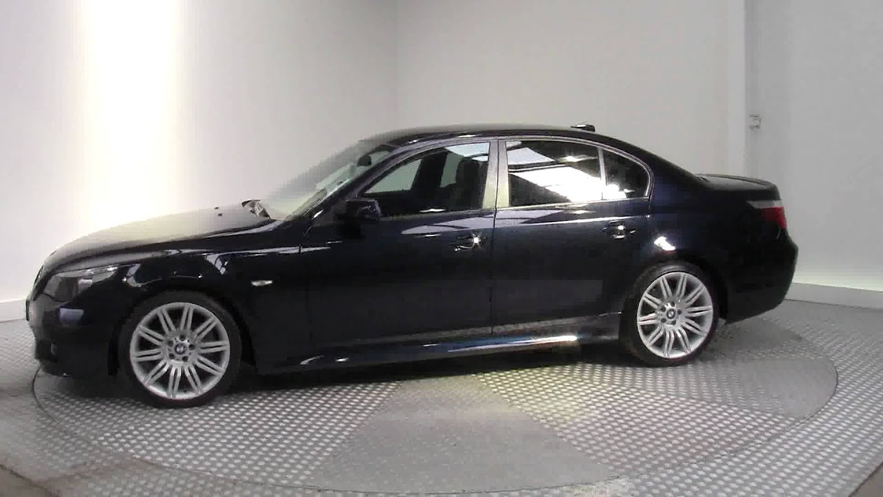2007 bmw 5 series 525d m sport youtube. Black Bedroom Furniture Sets. Home Design Ideas