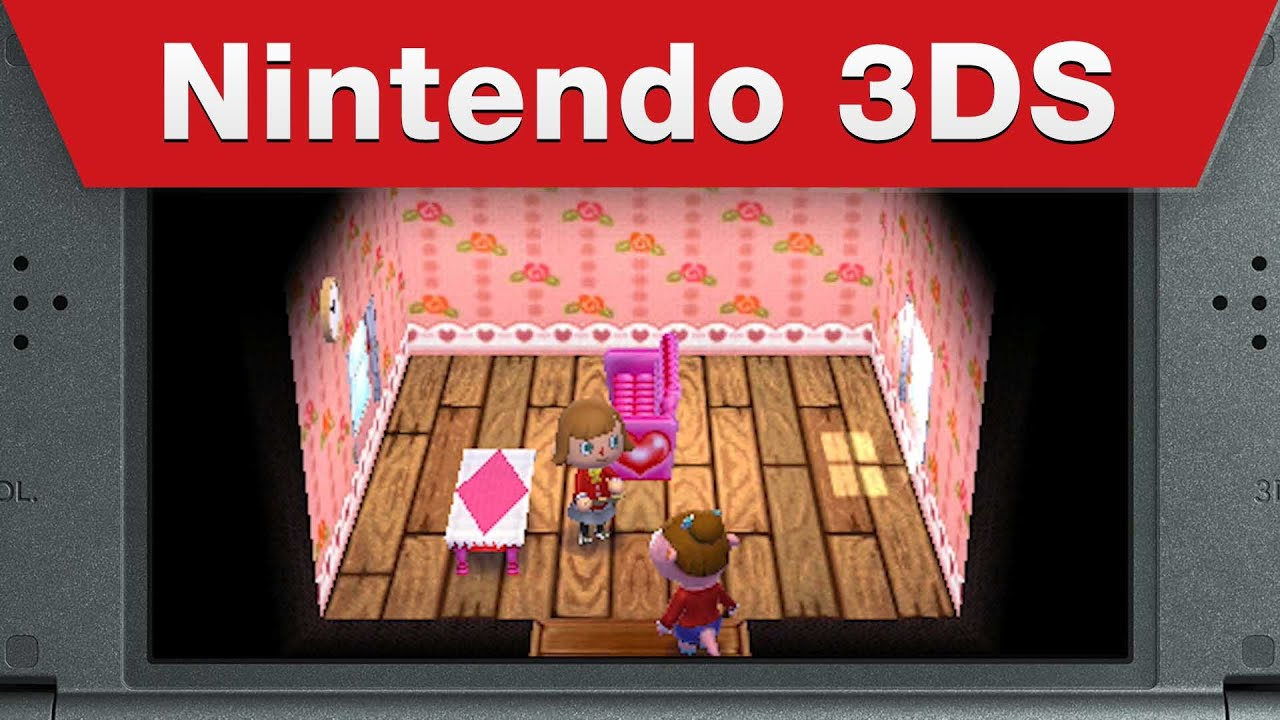 Nintendo 3ds Animal Crossing Happy Home Designer E3 2015 Trailer Youtube