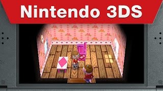 Nintendo 3DS - Animal Crossing: Happy Home Designer E3 2015 Trailer