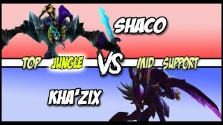 Bringing the Pain in the Mid Game - Shaco Jungle Full Game #110