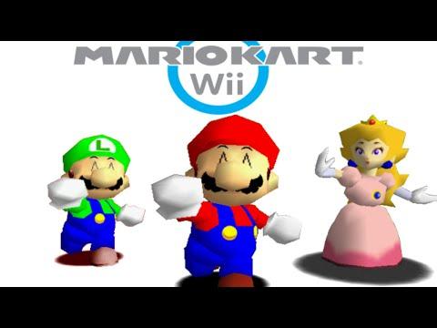 Sm64 mario kart wii youtube - Mario kart wii voiture ...