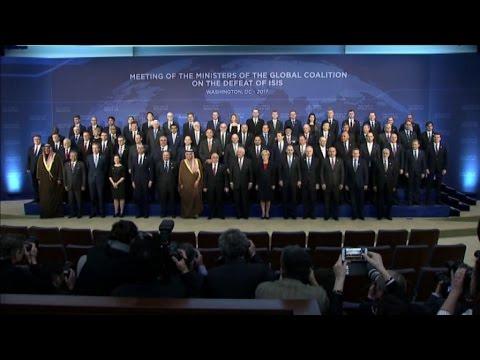 Usa, foto di gruppo al vertice della coalizione anti-Isis