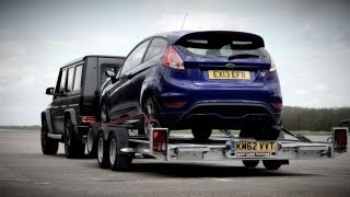 Ford Fiesta ST v. Mercedes G63 AMG, Sort Of. - /CHRIS HARRIS ON CARS