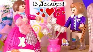 ДЕНЬ 13! #ЧЕЛЛЕНДЖ - НОВОГОДНЯЯ ИСТОРИЯ Мультик - Куклы ЛОЛ, Grinch, Playmobil - Сюрпризы в Дверках