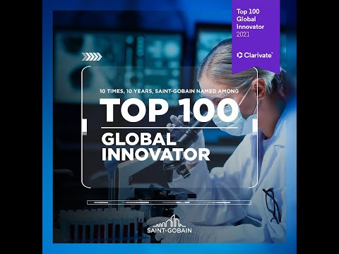 For the 10th time in 10 years, Saint-Gobain named among the most innovative companies in the world
