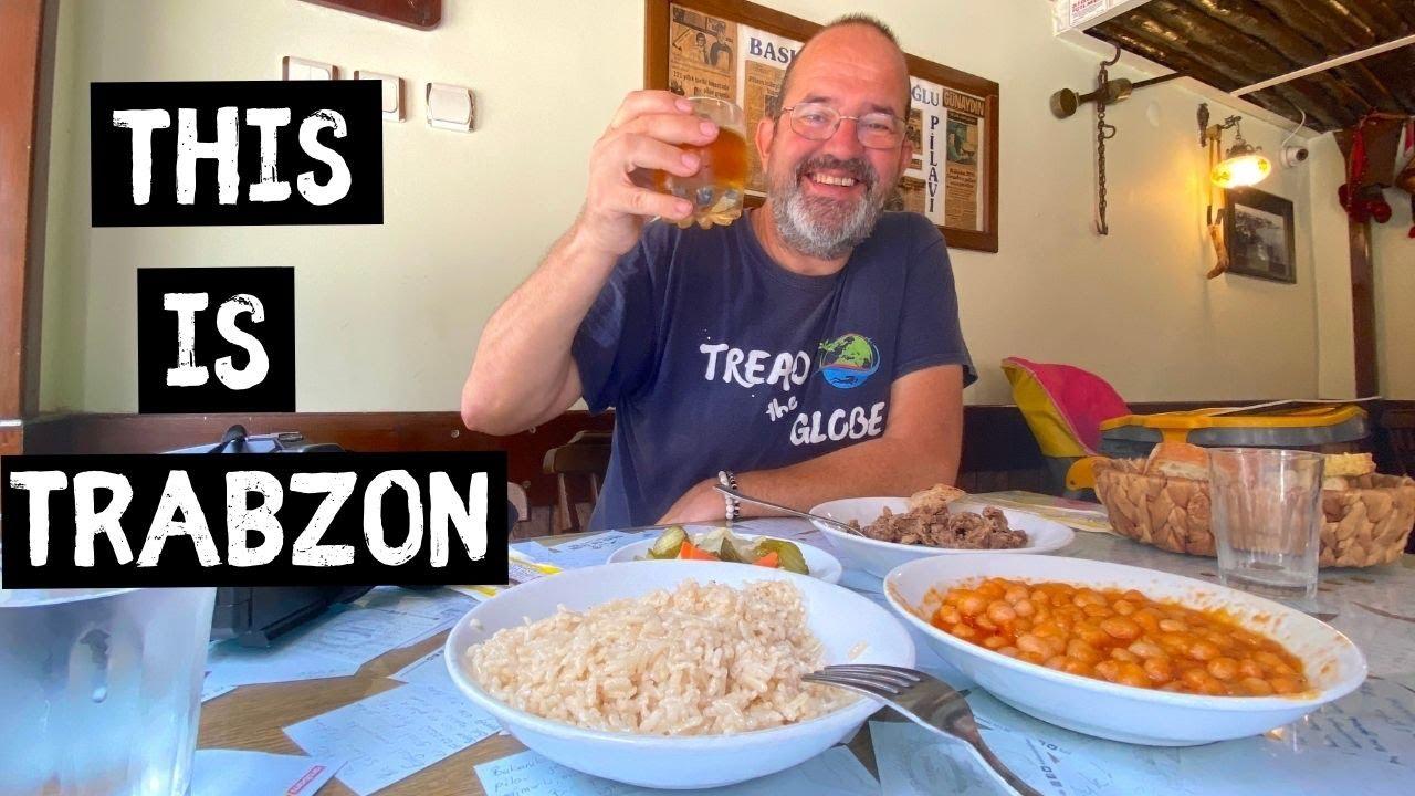 TRABZON Experiencing LOCAL LIFE | Turkish Van Life ...