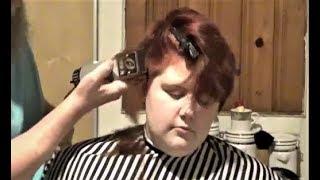 Ginas modern Chelsea cut, an Aimees Haircut production