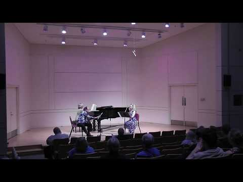 PSU Faculty Recital 2017 part 2