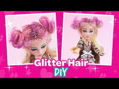 #SNAPSTAR Glitter Hair DIY