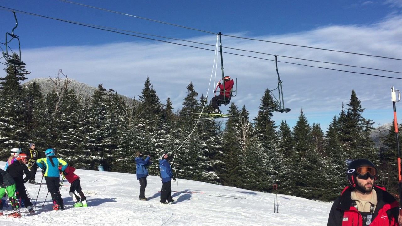 high country chair lift derails at waterville valley ski resort, new
