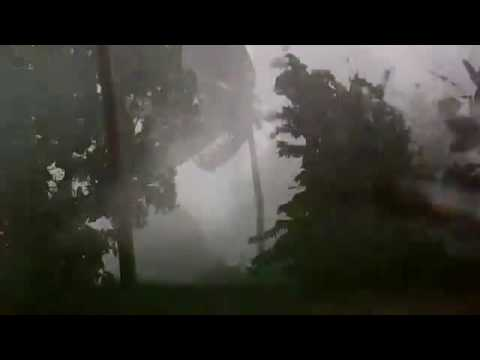 Cyclone Cook battered New Caledonia,New Zealand  @200 kmph