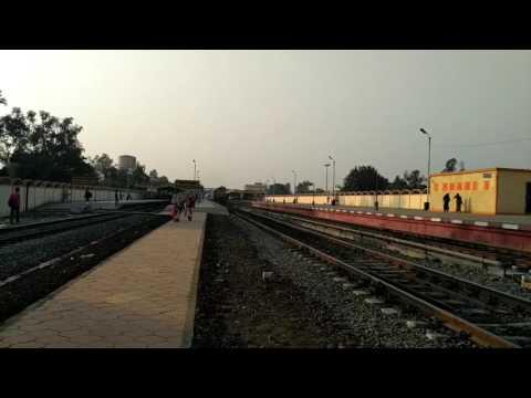 Chennai Egmore-Gaya Exp honks past Madan Mahal