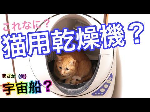 全自動猫トイレキャットロボットオープンエアーの仕組みと動作を紹介