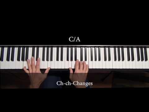 Changes  David Bowie piano lesson