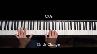Changes by David Bowie piano cover/lesson
