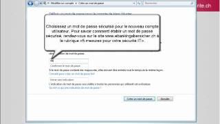 Gestion des droits d'accès Windows 7 (FR)