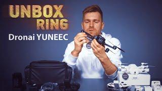 DU DRONAI SKRENDA!!!   YUNEEC   Unbox Ring apžvalga