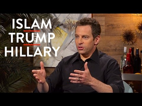 Sam Harris on Islam, the Left, Trump, and Hillary