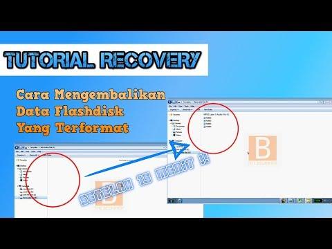 Cara ampuh mengembalikan file data terformat cepat dan mudah.