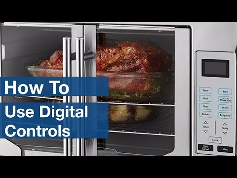 How To Use Digital Controls on Countertop Ovens | Oster®