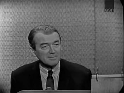 What's My Line? - James Stewart; Joseph Mankiewicz [panel] (Nov 10, 1963)