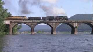765 Meets the OCS on Rockville Bridge!