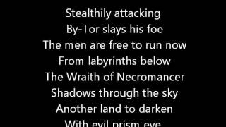 Rush-The Necromancer (Lyrics)