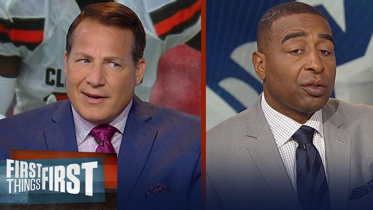 Eric Mangini on how Josh Gordon will adjust to 'The Patriot Way' | NFL | FIRST THINGS FIRST