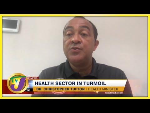 Jamaica's Health Sector in Turmoil   TVJ News - August 25 2021