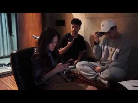 #SherShares - Behind the scene recording 'I Don't Mind', ide Sheryl ga bagus katanya??!!