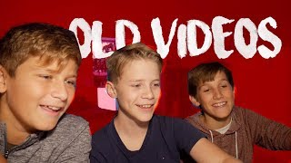 REACTING to OLD VIDEOS with FRIENDS