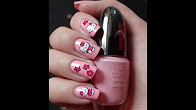 Nail Art | Hello Kitty water stickers