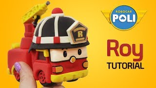 Transformed into clay♥ Roy became so soft! | Friends of Robocar POLI | Gony's Claytown