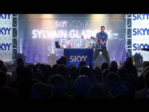 SKYY Vodka Global Flair Challenge - London 2012 - Sylvain Glatigny 5th Place