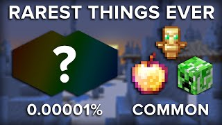 10 Rarest and Most Unusual Things in Minecraft