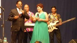 Daniel F De Souza with Rita Rose