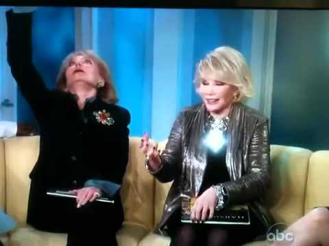 Joan Rivers on the View
