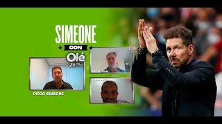 El Cholo Simeone habla de la Selección, Messi, Gallardo, el fútbol argentino y la intimidad familiar