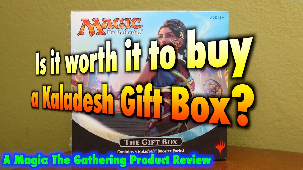 MTG - Is it worth it to buy a Kaladesh Gift Box for Magic: The ...