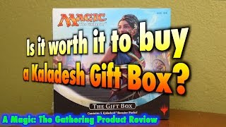 MTG - Is it worth it to buy a Kaladesh Gift Box for Magic: The Gathering?
