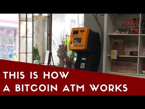 Watch Live As We're Buying Cryptocurrency At A Bitcoin ATM In Chiang Mai At Cube 7