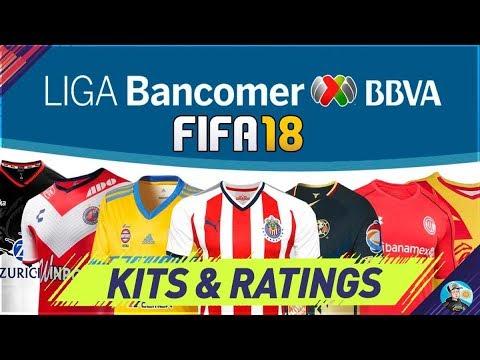 FIFA 18 Liga MX Kits & Ratings