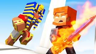 Minecraft ARES O DEUS DA GUERRA com o maior exercito - DEUSES DO EGITO Epi. 18 Koow