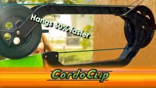 CordoClip Auto Clothesline Kit