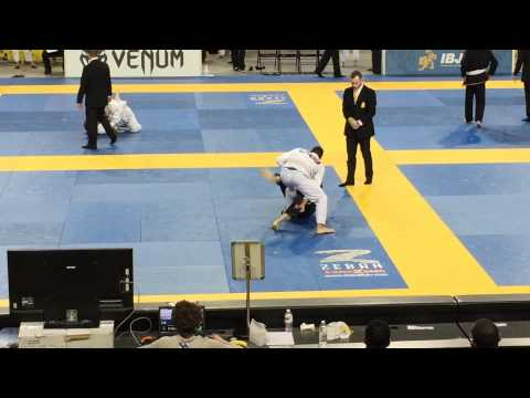 2015 IBJJF Pan Ams - Adult White Belt Middle Weight - Finals
