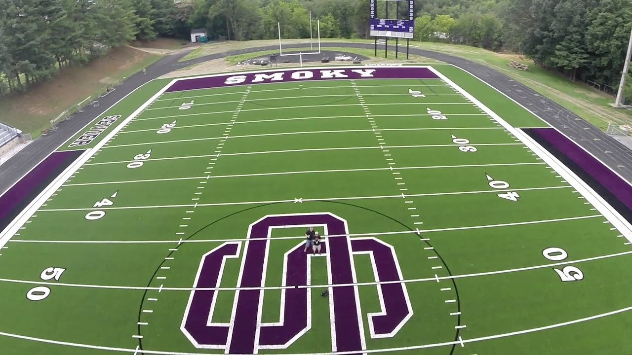 Sevier County Bears Drone Tour of New Field - YouTube