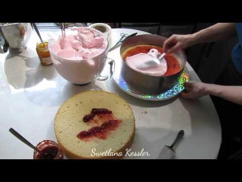 Формирование и оформление двух ярусного торта. Часть 1.