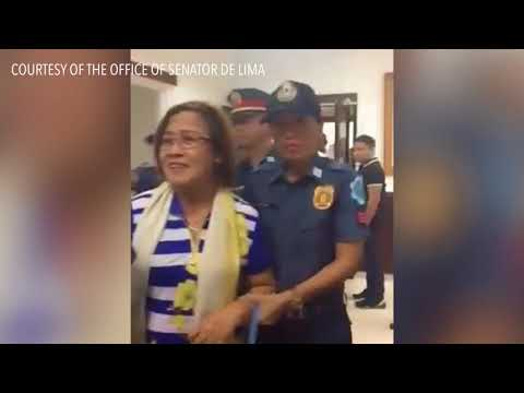 Muntinlupa court grants De Lima 1-day medical furlough