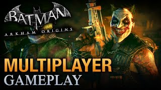 Batman: Arkham Origins - Multiplayer Gameplay #10 [Hunter, Hunted Mode]