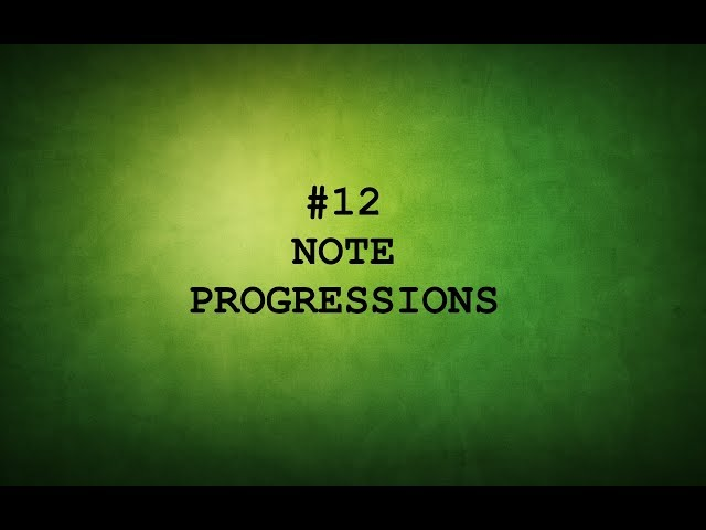 TAMIL GUITAR LESSONS-#12-NOTE PROGRESSIONS